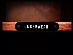 Day 76 : Oooh err, missus (Mr. Jackpots) Tags: underwear wardrobe label