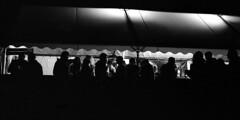"""Chausse Tes Tongs 2017"" (The Blue Water Lily's Company) Tags: fdrouet nb bw monochrome monochrom film analog chaussetestongs festival nikon kodak bretagne brittany bar"