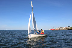 IMG_0571 (Foundry216) Tags: sailing sailor lake erie sail c420 water sports thisiscle cleveland