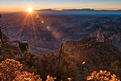 Sunrise at the North Rim of the Grand Canyon (brianbaril_photography) Tags: brianbaril arizona az autumn america beautiful d850 landscape grand canyon national park north rim northrim sunrise