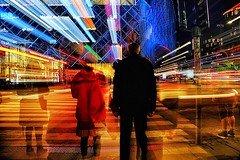 City pulse #2 (Birdhouse camper) Tags: copenhagen denmark color blur zoom street light fujifilm fuji xt2 fujixt2