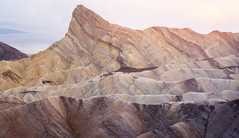Sunset from Zabriskie Point, Death Valley (jezhughesphotography) Tags: california goldenhour summer warm northamerica shade nps nationalpark photography deathvalleynationalpark america usa deathvalley explore zabriskipoint