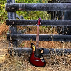 On the Ranch (Pennan_Brae) Tags: musicphotography okanagan madeinjapan shortscale instrument fenderguitars fenderguitar offsetguitars offsetguitar guitar fenderjaguar fender electricguitar