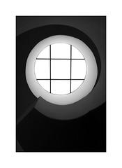 Barred (W.Utsch) Tags: minimalism minimalismus graphik bnw blackwhite leica monochrom schwarzweis abstract architecture starcase treppenhaus