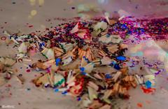 A Beautiful Mess (marksmorton) Tags: travel shavings color colour colorful art wanderlust photoshop nikon canon pencil paint pencilshavings