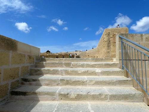 The ramparts of the Cittadella