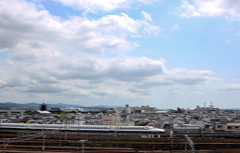 "Shinkansen ""Superexpress"" (turini2) Tags: kyoto japan bullet train shinkansen superexpress n700a tokaido line"