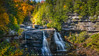 Blackwater Falls (Mike Ver Sprill - Milky Way Mike) Tags: blackwater falls state park black water west virginia davis landscape fall foliage autumn seasons changing leaves leave leaf trees tree gorge rocks rocky edge low nature milky way mike michael versprill ver sprill nikon d810 travel