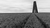The Daymark......... (klythawk) Tags: thedaymark tower wheat clouds daytimelongexposure tracks summer grey black white nikon d610 1835mm 16stop formatthitech kingswear dartmouth southdevon klythawk