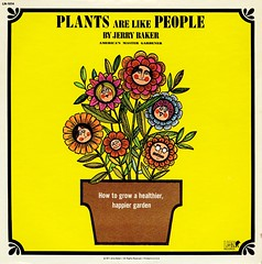 Plants Are Like People (grooveisintheart) Tags: lp record vinyl groovy mod graphicdesign vintage albumcover 1973