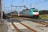 NMBS 2803 with Benelux train at Essen, October 14, 2017 (cklx) Tags: beneluxtrein beneluxtrain roosendaal essen reeks28 br186