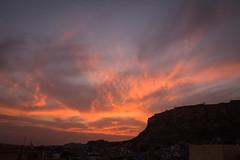 Rajasthan - Jodhpur - blue city sunset-3