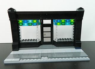 Lego Modular - Angled Storefront Windows