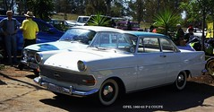Opel 1960-63 Record P-2 Coupe (Basic Transporter) Tags: pistonringoct2017 classic car club south africa opel record p2 coupe