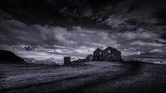 Kinda Blue ~ Abandoned Icelandic Farmhouse (Mabry Campbell) Tags: europe houstonphotographer iceland scandinavia southiceland southerniceland abandoned architecturalphotography architecturephotography coast coastal commercialphotography farm farmhouse fineartphotographer fineartphotography image landscape moody mountains old photo photograph photographer photography f80 mabrycampbell april 2013 april152013 201304150h6a0815 17mm ¹⁄₆₄₀sec 100 ef1740mmf4lusm