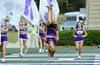 Military Appreciation Game vs. VMI (Furman University Official Page) Tags: militaryappreciation rotc football gameday students blonde crosscountry human people person plant pottedplant runningtrack shorts sport