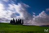 DSC_8552-1 (manuelbinettiphotography) Tags: trees sky travel blue minimal night light clouds cloudscape cloudy italy tree moon green glass italia cloud hill hills florence toscana moonlight tuscany italian cypress nightscape cypresses pienza san quirico dorcia cipressi