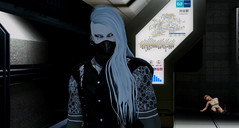 In the tunnel (Fraz_Gloom) Tags: sl second life photography dark gothic urban