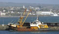 Newlyn (Mark C (Downloadable)) Tags: newlyn penzance fishing boat trawler harbour coast coastal cornwall uk