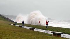 It's Behind You (Karls Kamera) Tags: waves crash storm splash stbees prom brian