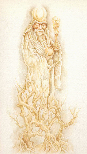 Shou Lao-Watercolour