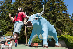 Hwy 101 CA-OR July 2018-3 (ntisocl) Tags: 2017 babetheblueox california californiacoast canon1dmarkiii hwy101 pacificnorthwest paulbunyon redwoodhwy treesofmystery roadtrip roadsideattraction statues