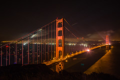On a Night Like This (Thomas Hawk) Tags: 75thbirthdaygoldengatebridge america batteryspencer california goldengatebridge marin marinheadlands sanfrancisco usa unitedstates unitedstatesofamerica bridge millvalley us fav10 fav25 fav50 fav100