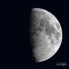 Waxing Gibbous Moon (Explored) (dcstep) Tags: dsc4986dxo canonef500mmf4lisii ef20xtciii metaboneseftoetadaptermkv moon gibbous waxinggibbous luna lunar cherrycreekstatepark cherrycreekreservoir handheld aurora colorado usa sonya9 allrightsreserved copyright2017davidcstephens dxophotolab nature urban urbannature explore explored