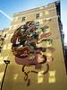 Toxoplasmosis by Nychos (wiredforlego) Tags: graffiti mural streetart urbanart aerosolart publicart nychos sanfrancisco california sfo cat