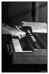 orgue hammond (pascalrambout) Tags: orgue hammond nikon d7100 bw instrument ska