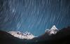 Himalayan Trails (Featuring Mount Everest, Lhotse and Ama Dablam) (hak87) Tags: nepal everest base camp trek star trails himalaya mountains mount lhotse amadablam tengboche