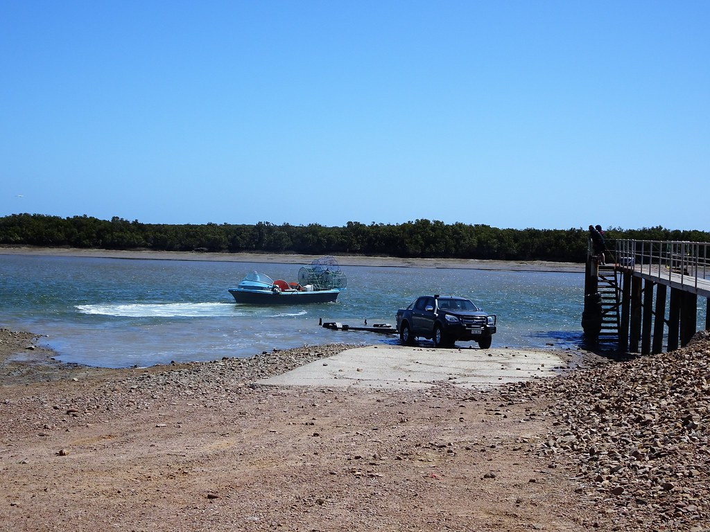 Port Davis. At the mouth of the Broughton River. Near Port Pirie. Once a small port for loading bagged wheat.