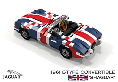 Jaguar E-Type Convertible (Shaguar) - Austin Powers (lego911) Tags: jaguar etype xke 1961 convertible shaguar austin powers film movie comedy madonna song music video auto car moc model miniland lego lego911 ldd render cad povray lugnuts 1960s classic roadster beautiful stranger spy who shagged me thespywhoshaggedme mike myers 120 happy10thanniversarylugnuts happy 10th anniversary 17 playthatfunkymusic play that funky england uk british