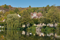 Promenade au bord de l'Yonne (Géraud de St G) Tags: bourgogne yonne 89 bailly