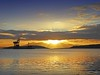Fairlie Sunset1 (g crawford) Tags: crawford ayrshire scotland northayrshire sundown gloaming afterglow clyde riverclyde firth firthofclyde fairlie beach arran cumbrae cumbraes hunterston crane cranes oreterminal peelports sunset