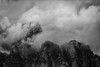 Storm Front (ClareC79) Tags: 100xthe2017edition 34100 canon canon5dmkiv canon70200mmf28is canada castlemountain landscape clouds mountain bw