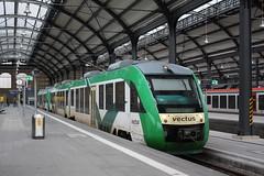 vectus: VT 256 nach Limburg (Lahn) in Wiesbaden Hbf (Helgoland01) Tags: eisenbahn railway wiesbaden hessen vectus hlb deutschland germany