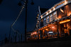 """Streets of Volendam"" (lukas.matocha) Tags: harbour shadow night historical holland volendam lights"