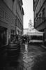 Rainy Day in Parma (tjreboot) Tags: kodak trix diafine developer develop self analog film parma italy black white vintage minolta tc1 light grain scan