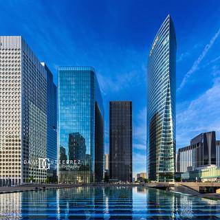 Glass And Steel - La Défense, Paris, France