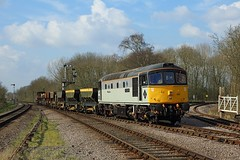 33063, Swithland,  23 March 2017 (Mr Joseph Bloggs) Tags: 33 33063 great central railway railroad bahn train treno brcw crompton swithland emrps east midlands photographic society freight cargo merci preserved gcr