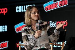 Jodie Foster (director, moderator) (An Englishman In San Diego) Tags: gpr nycc2017blackmirror newyork ny