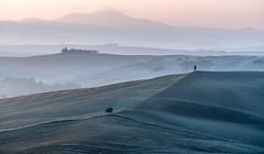 (Femme Peintre) Tags: rot toskana crete italien landschaft natur outdoor hügel nebel ruby10