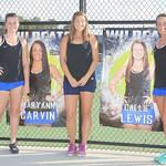 LHS Tennis, Varsity Women, Sr. Recognition, 10-11