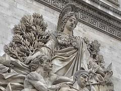 Paris  France ~  Porte Saint-Denis  ~ Historic Monument ~ Sculpture