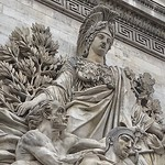 Paris  France ~  Porte Saint-Denis  ~ Historic Monument ~ Sculpture thumbnail