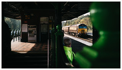 Posh Stock (Gingydadtog) Tags: class57 diesel locomotive passengertrain stourbridge stourbridgejunctionstation thenorthernbelle westmidlands