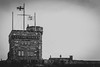 Cabot Tower (ljmiller83) Tags: bw cityscape cloudy downtownstjohns overcast signalhill summer