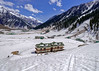 Snow 47 ... (Bijanfotografy) Tags: nikon nikond800 nikonfx fx zeiss zeiss15mm zeissdistagon15mm28 india kashmir jammukashmir jk sonamarg snow cottage mountainside mountains landscape view