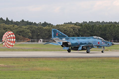 McDonnell-Douglas RF-4EJ Kai 47-6905 '905' 501 Hikotai (Mark McEwan) Tags: mcdonnelldouglas f4 rf4ekai phantom 476905 501hikotai jasdf japan japanairselfdefenseforce aviation aircraft airplane military reconnaissance recce bluephantom hyakuri ibaraki woodywoodpecker spook brakechute rf4ejkai